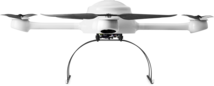 Microdrones md4-1200 drone UAV lower front view