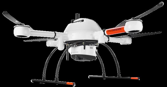 Microdrones md4-1000 mdLiDAR1000 Laser scanner