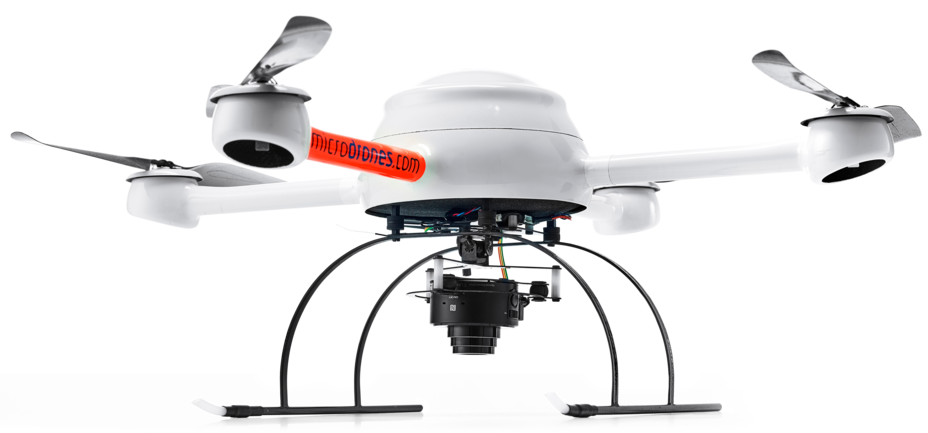 mdMapper200 integrated system with a Microdrones md4-200 UAV
