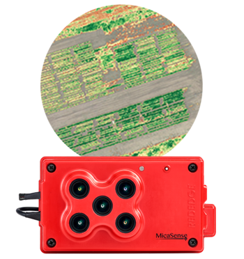 Microdrones mdMapper +m Micasense Rededge sensor for multi-spectral imaging