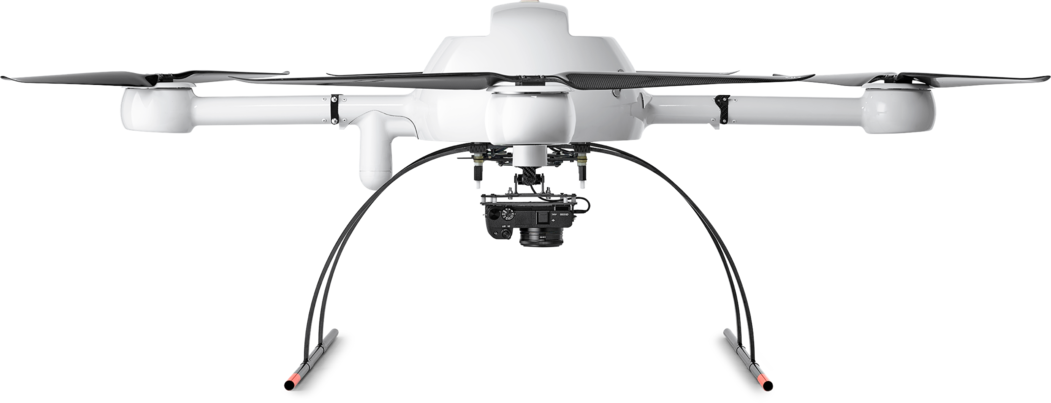 Microdrones mdMapper1000 low front view md4-1000