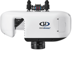 Riegl miniVUX-1UAV laser scanner used for the mdLiDAR3000 integrated system