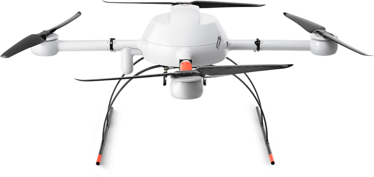 Microdrones md4-1000 UAV higher front view