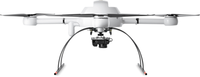 Microdrones mdMapper1000 Integrated System low front view