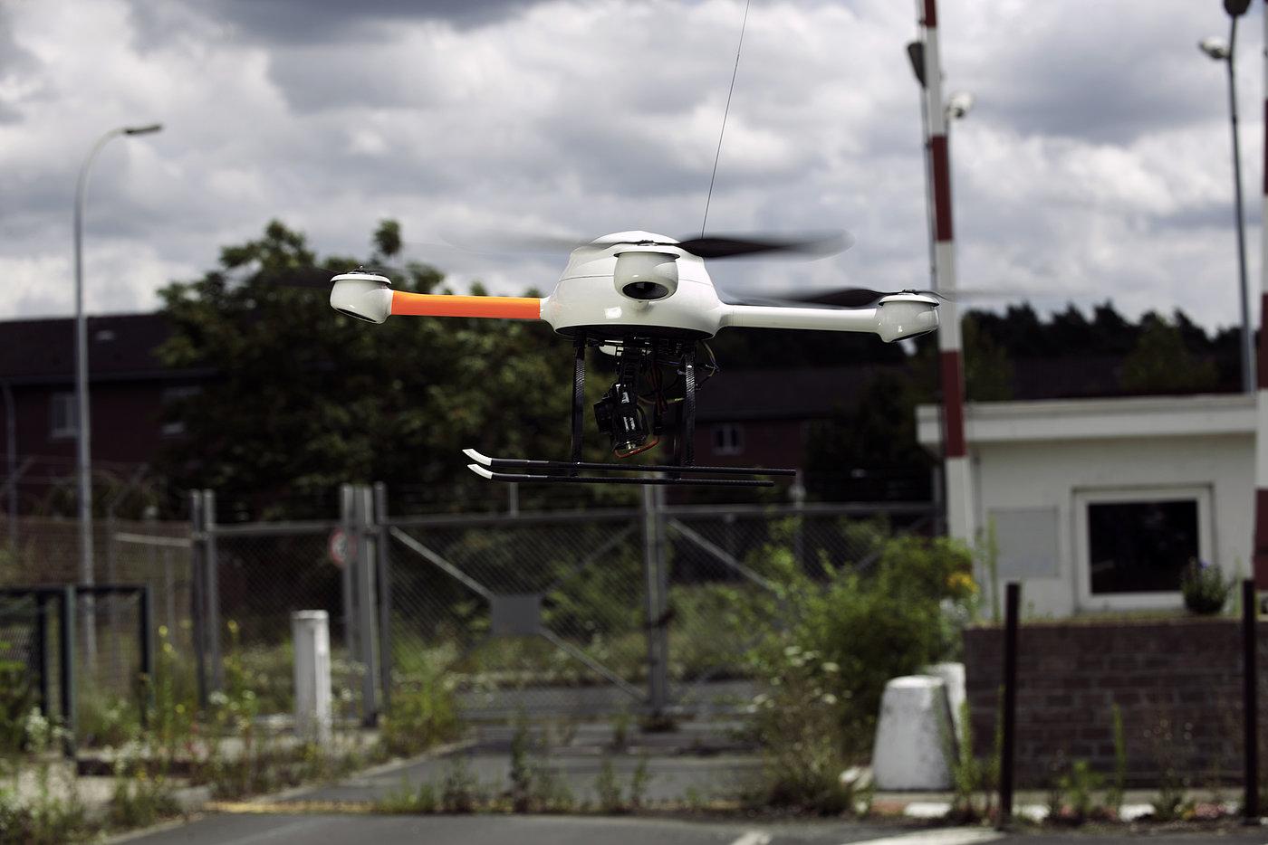 UAV for civil security: police drones, traffic control