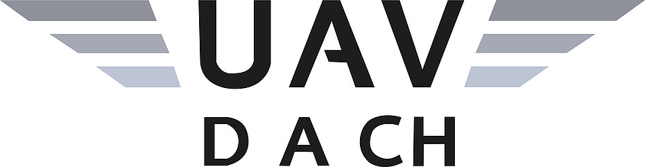 Logo of the UAV DACH organization.