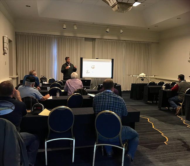 Matt Rosenbalm Presents Microdrones Systems At 2019 Survey