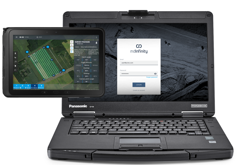 Microdrones mdLiDAR integrated systems for desktops and tablets