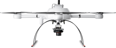 Microdrones mdMapper1000DG Integrated System low front view