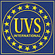 Logo of the UVS International organization.