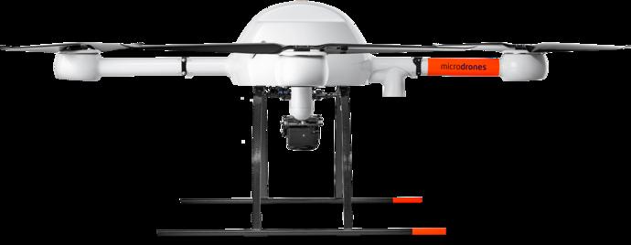 Microdrones mdMapper1000 low left view md4-1000