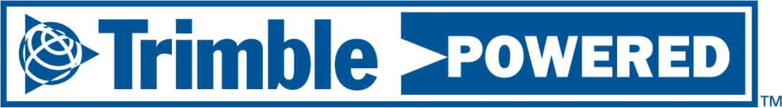 Logo Trimble powered
